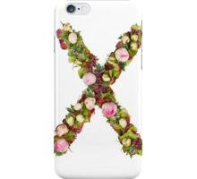 Capital Letter X Part of a set of letters, Numbers and symbols iPhone Case/Skin