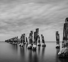 The Old Jetty by Julie Begg