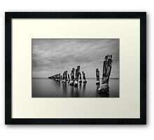 The Old Jetty Framed Print
