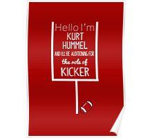 Kurt Hummel, Kicker Poster