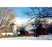 Connecticut Farm  Photographic Print