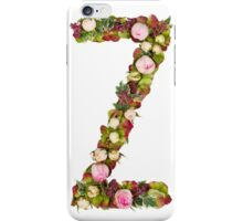 Capital Letter Z Part of a set of letters, Numbers and symbols iPhone Case/Skin