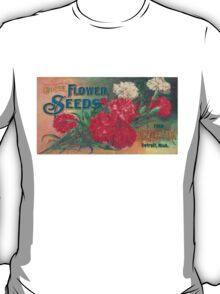 Vintage Detroit D. M. Ferry Seed Ad T-Shirt
