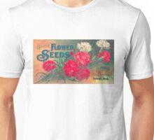 Vintage Detroit D. M. Ferry Seed Ad Unisex T-Shirt