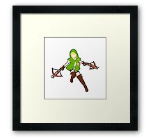 Linkle Framed Print