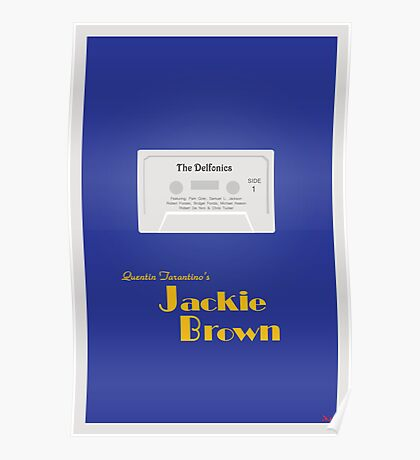 Original Jackie Brown Minimalist Movie Poster Poster