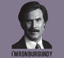 Hi! I'm Ron Burgundy Kids Clothes