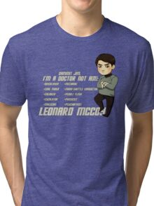 Doctor Leonard Mccoy Tri-blend T-Shirt