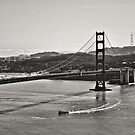 Boating Under The Golden Gate by NancyC
