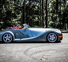 Morgan Aero 8 Sports Leaving the scene - Sealy Lookout, Coffs Harbour by Normf