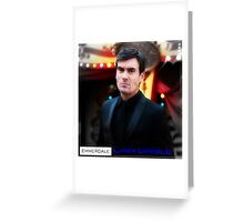 Cain Dingle-Emmerdale Greeting Card