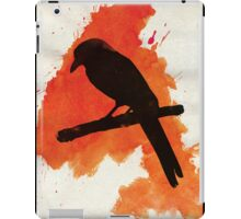 Dark Wings, Dark Words. iPad Case/Skin