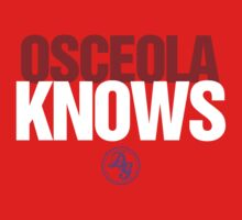 Discreetly Greek - Osceola Knows - Nike Parody by integralapparel