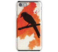 Dark Wings, Dark Words. iPhone Case/Skin