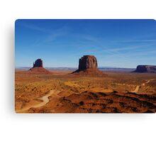 Monument Valley impression, Arizona Canvas Print