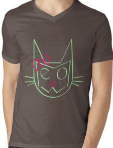 Mrs. Meow Mens V-Neck T-Shirt