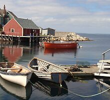 Peggy's Cove, Nova Scotia by Judy Barford
