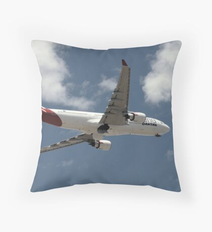 breaking sky Throw Pillow