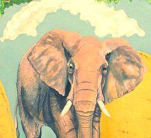 An Elephant Taco Sticker