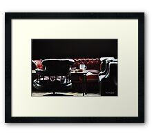 Club Lounge Framed Print