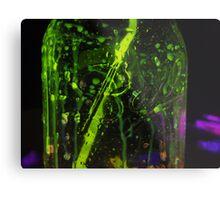Glow Jar Metal Print