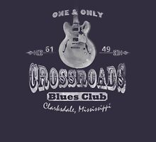 White Crossroads Blues Club Unisex T-Shirt