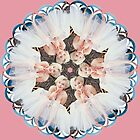 Kaleidoscopic Marilyn Monroe Photography Circular Pattern Classic Hollywood Vintage Artwork by dollyforsue