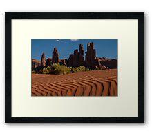 Valley of the Rocks Framed Print
