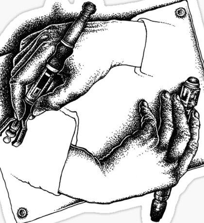 DOCTOR HANDS Sticker