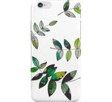 Watercolor Leaves iPhone Case/Skin