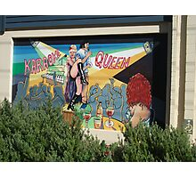 Broken Hill mural by Geoff De Main, a Photographic Print
