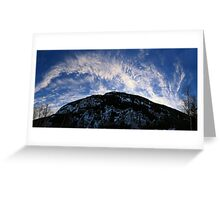 Evening Showcase Greeting Card