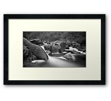 Mystic in the Mountain Framed Print
