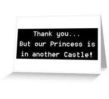 In Another Castle Greeting Card