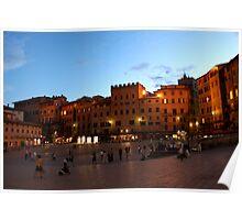 Piazza del Campo Poster
