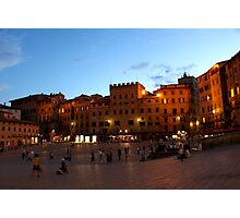 Piazza del Campo Photographic Print