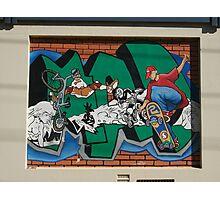 Broken Hill mural by Geoff De Main, i Photographic Print