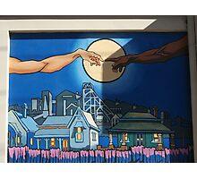 Broken Hill mural by Geoff De Main, m Photographic Print