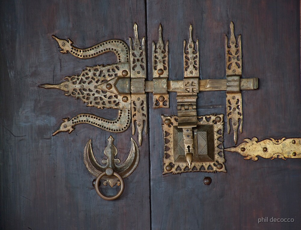 Knocker And Lock by phil decocco