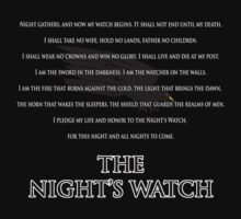 The Night's Watch by danzan22