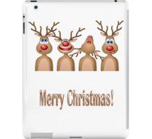 Singing Reindeer iPad Case/Skin