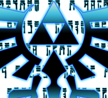 The Hylian Crest- Redux Sticker