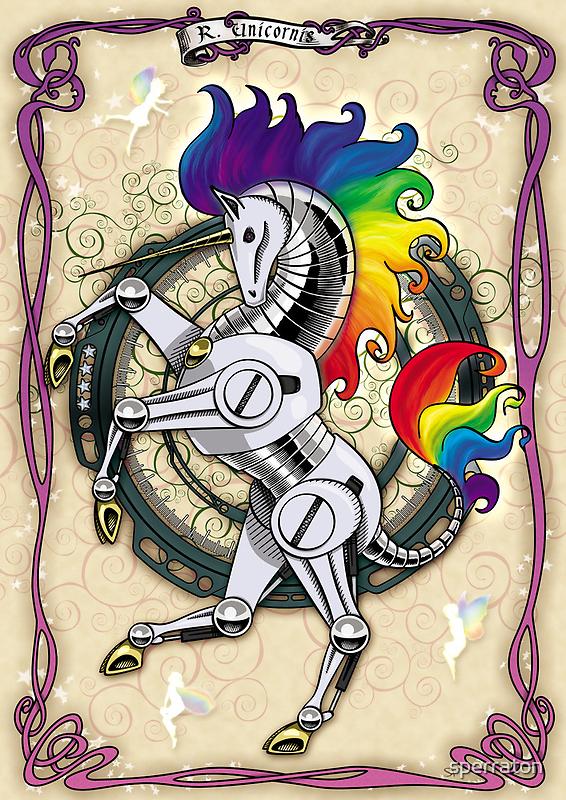 All Hail the Robot Unicorn by sperraton