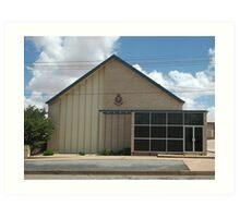 Broken Hill The Salvation Army Hall Art Print