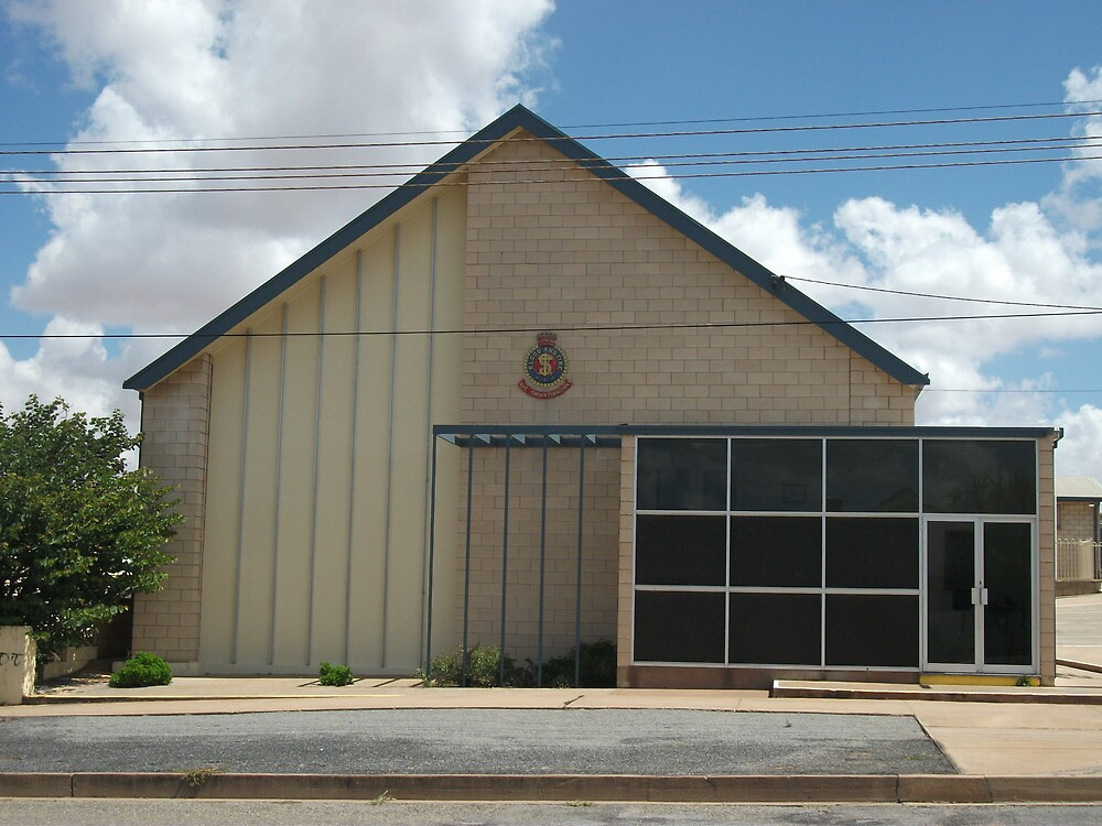 Broken Hill The Salvation Army Hall by Heather Dart