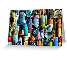 Buoys and Props Greeting Card