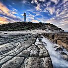 Norah Head Lighthouse at Sunset by Arfan Habib