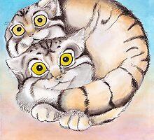 Cat Ball Friendship by catshrine