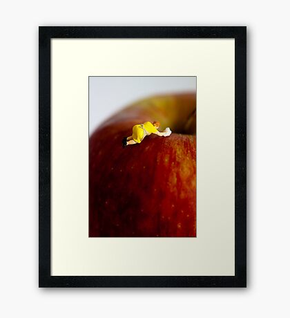 Some jobs are worth the extra effort Framed Print