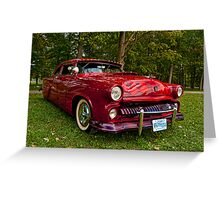 1953 Ford Classic Greeting Card